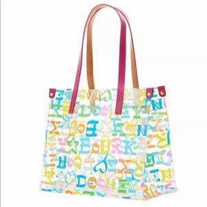 Dooney and Bourke clear concert bag doodle bag